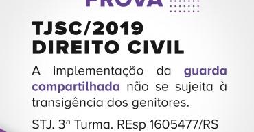 JA CAIU EM PROVA - TJsc -direito CIVIL